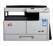 郑州铭双震旦188黑白打印复印扫描三合一出租租赁