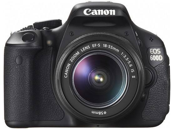 佳能/Canon 600D中端级单反相机套机 搭配18-55mm镜头