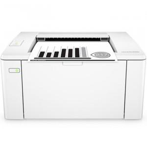 HP惠普M104w黑白激光标签打印机手机平板无线wifi