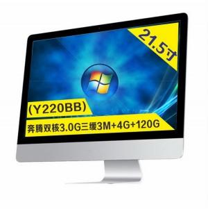 【Y220BB】22寸超薄商务办公一体机电脑(台式机处理器)
