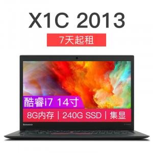 ThinkPad X1C 2013 联想 商务办公轻薄 笔记本 二手