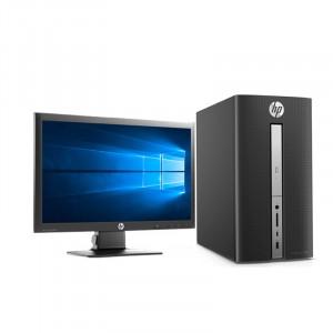 惠普/HP 570台式电脑游戏全套 四核独显960+显示器