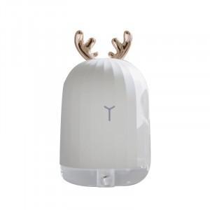 3life迷鹿加濕器 靜音 凈化空氣 車載噴霧 可愛霧化器