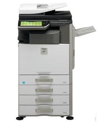 夏普MX3118 NC免費印4000張黑白100張彩色