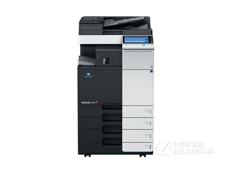 柯尼卡美能達C364彩色復印機高顏值穩定效果好