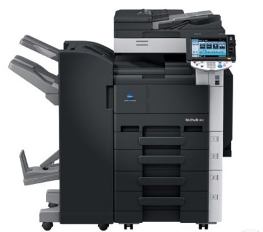 柯尼卡美能達C554彩色高速復印機
