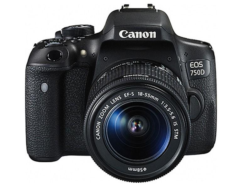 佳能 EOS 750D单反相机(配18-55mm镜头)