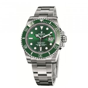 勞力士潛航者型系列116610LV-97200 綠盤腕表(綠水鬼)