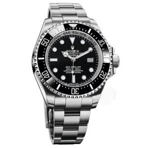 勞力士海使型系列116660-98210 黑盤腕表(水鬼王)