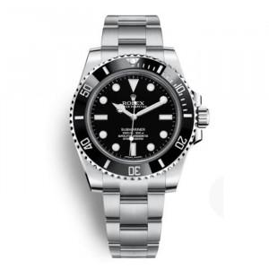 勞力士潛航者型系列114060-97200 黑盤腕表(黑水鬼)