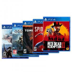 【大表哥电玩】PS4 游戏光盘合集 可选择多款游戏