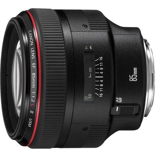 佳能 EF 85mm f/1.2L II USM 人像定焦镜头