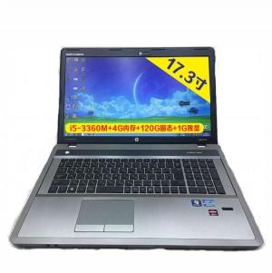 惠普HP17.3寸大屏办公笔记本(i5/4G/120G固态/1G独显)