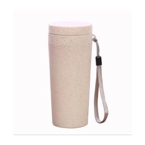 小麦杯秸秆纤维杯子