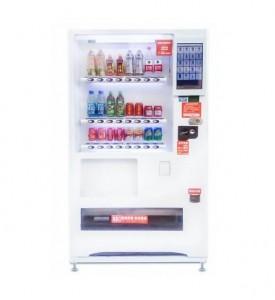 冷藏型智能掃碼售貨機租賃 免費上門安裝 標準貨道配置