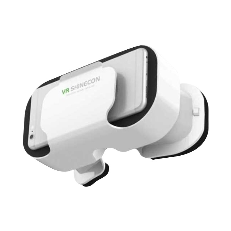 3D高清VR影院眼镜3d虚拟现实眼镜头戴式一体手机成人影院头盔放大镜