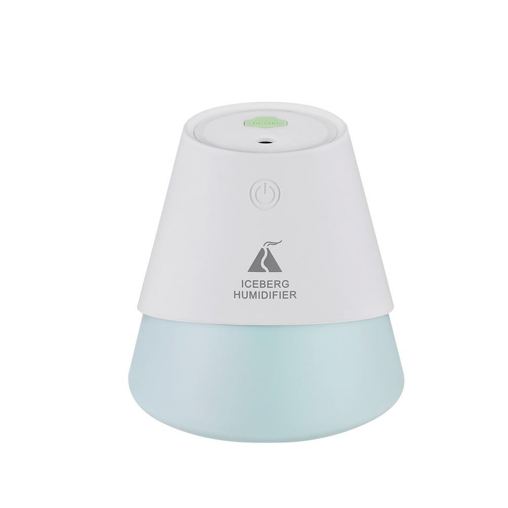 冰山迷你加湿器 USB办公卧室静音家用车载补水