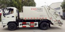 壓縮式垃圾車租賃 垃圾車出租多少錢