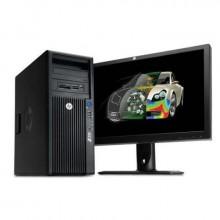 HP惠普Z420 高端服務器  配21.5寸顯示器