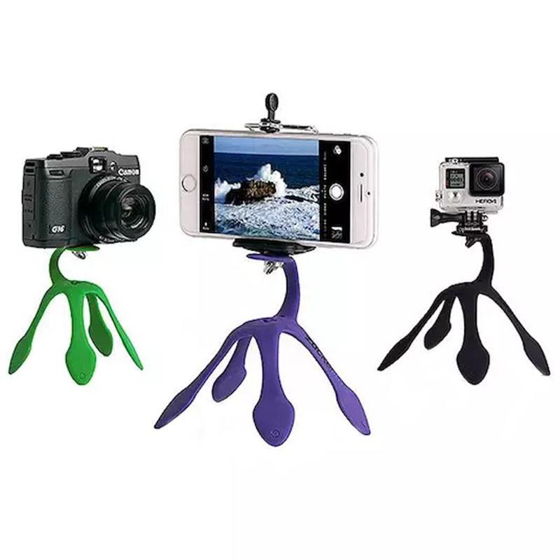 【爆款产品】以色列Gekkopod蓝牙迷你便携支架壁虎八爪鱼手机三脚架