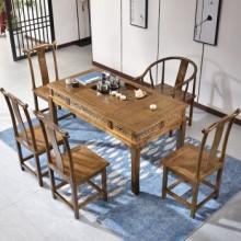 【租滿即送】實木茶桌椅組合 明清仿古家具 包郵