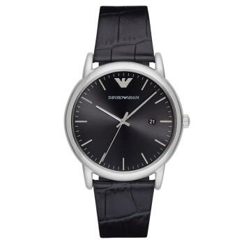 【到期可買斷】阿瑪尼 AR2500時尚休閑皮帶石英時尚腕表