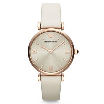 【到期可买断】阿玛尼 AR1769 时尚休闲石英女士腕表