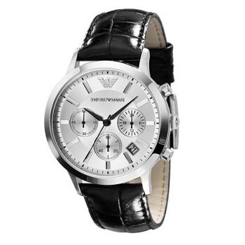 【到期可買斷】阿瑪尼AR2432格簡約時尚男士手表