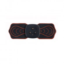 遙控迷你按摩貼脈沖按摩儀充電魔力貼多功能頸椎按摩器電動理療儀
