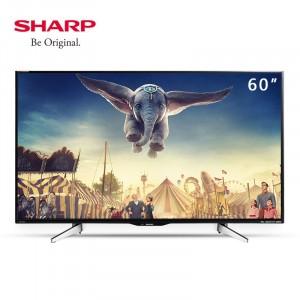 夏普 60英寸 超高清智能电视机