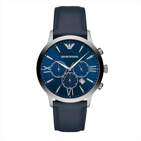 阿玛尼--男士石英手表--时尚三眼计时经典休闲百搭  满一年一元买断