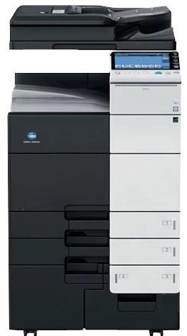 柯尼卡美能达中速黑白多功能一体打印机租赁