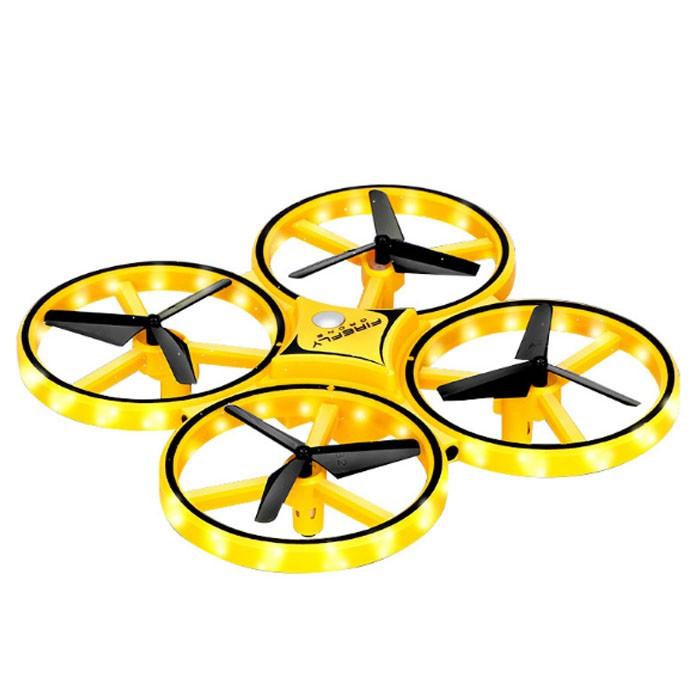 爆款抖音同款重力感应手表无人机手势控制感应四轴飞行器遥控飞机