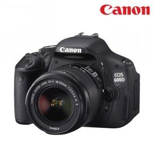 佳能600D单反相机(含18-55mm镜头)