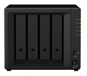 群晖(Synology)DS418 四盘位 NAS网络存储服务器