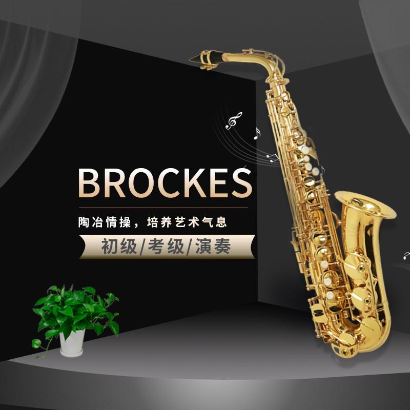 布鲁克斯 中音萨克斯  专业演奏BAS-261   市场售价4280