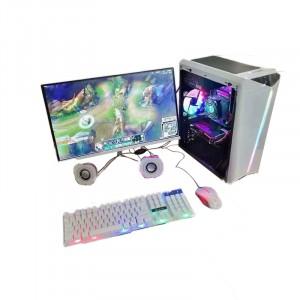 包邮 网吧 i5 4460台式机电脑  带显示器提供键盘鼠标!