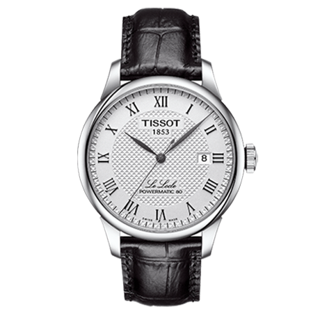 【到期可买断】天梭(TISSOT)瑞士手表 力洛克系列机械男士手表