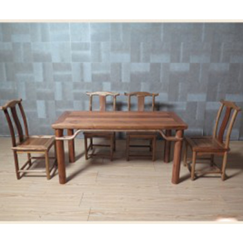 【租滿即送】全實木兒童餐桌五件套   包郵