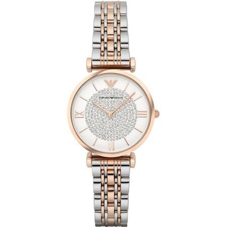 阿瑪尼手表(Emporio Armani)滿天星石英女表/到期一元買斷