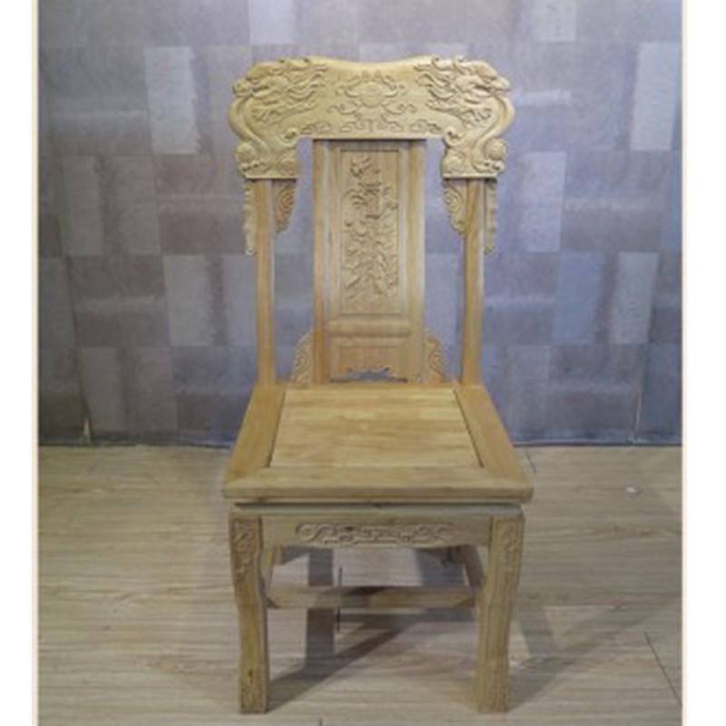 【租滿即送】新款招財進寶靠背椅全實木樏木座椅包郵
