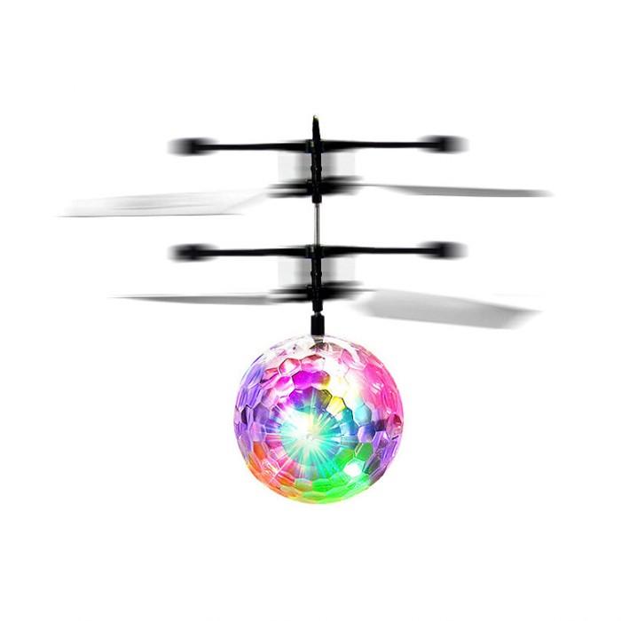 创意智能感应飞行器悬浮体感发光耐摔充电水晶球儿童男孩女孩玩具