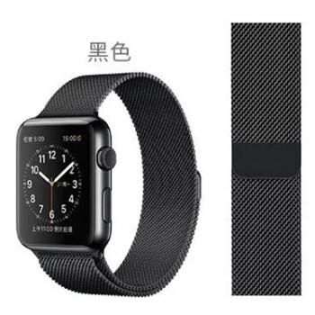 【一元到期買斷】Apple Watch 1 黑色配米蘭尼斯表帶