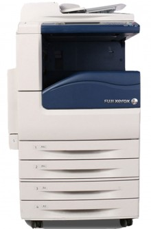 施樂彩色打印復印一體機