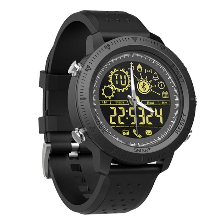 贝特嘉蓝牙智能电子手表金属大表盘实体指针50米防水计步信息提示