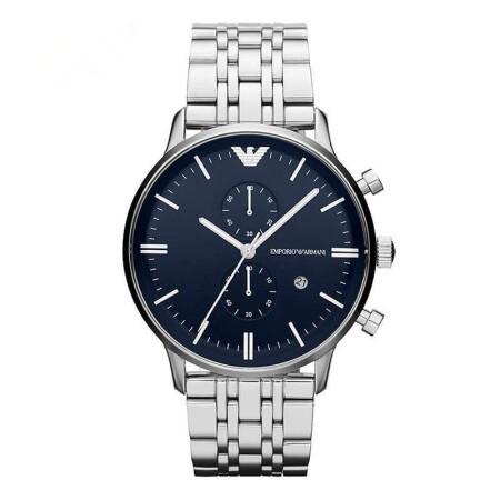 阿玛尼 时尚潮流休闲男士石英手表腕表