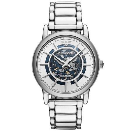 阿玛尼 男士手表镂空经典休闲机械机芯