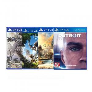 索尼PS4游戏光盘 租赁 出租