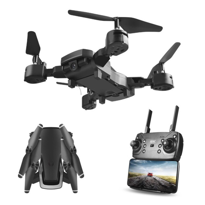折叠无人机 4K 高清广角摄像头航拍wifi1四轴飞行器定高遥控飞机