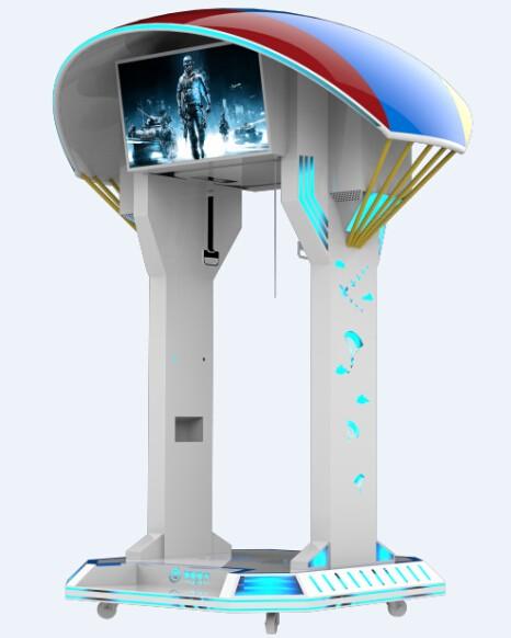免費加盟銀河幻影9DVR高空跳傘VR飛行滑雪站立體驗館設備